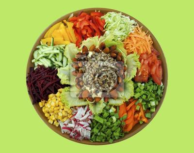 Frisches Gemüse: Schneid