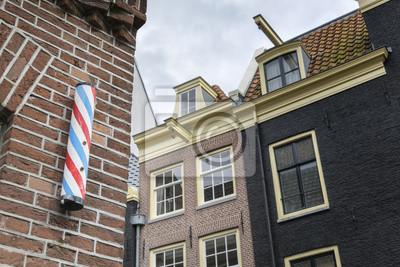 Friseursalon unterzeichnen in Amsterdam