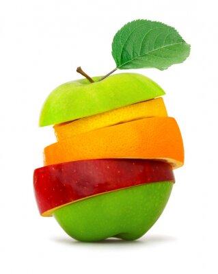 Poster Fruchtschnitten