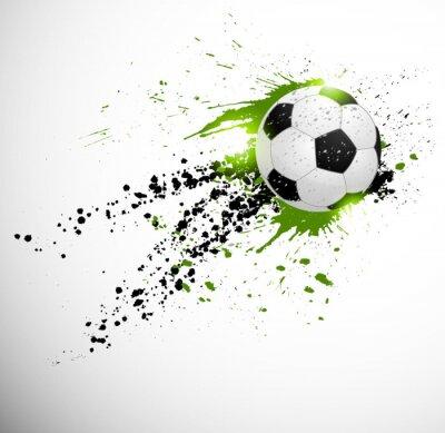 Poster Fußball-Design