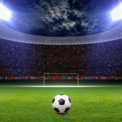 Poster Fussball Stadion