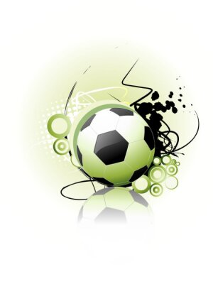 Poster Fußball-Vektor-Kunst