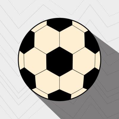 Poster Fußballfußballentwurf