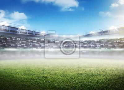 Poster Fussballstadion Hintergrund