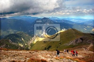 Gebirge stürmischen Landschaft