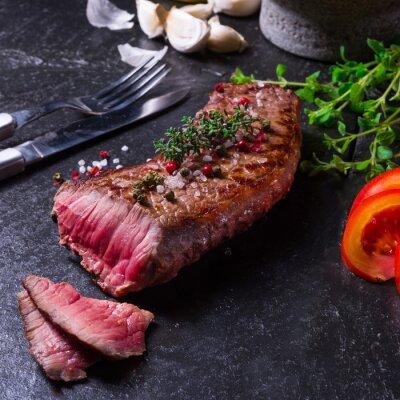Poster Gegrilltes Steak