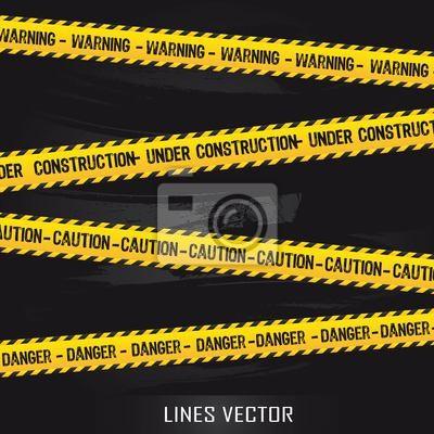 gelben Linien