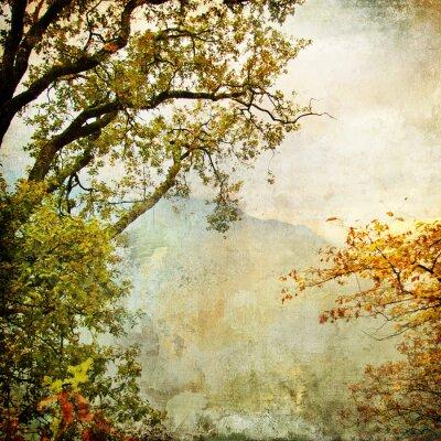 gemalt Herbst