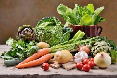 Poster Gemischtes Gemüse