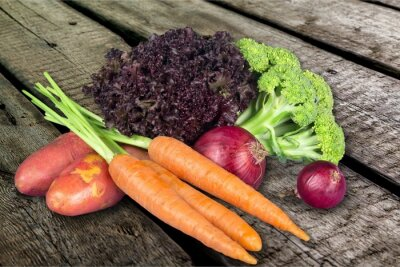 Poster Gemüse.