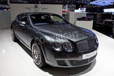 Poster Genf - 8. März: Der neue Bentley Continental
