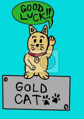 Gold-Katze