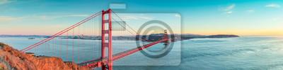 Poster Golden Gate Bridge, San Francisco Kalifornien