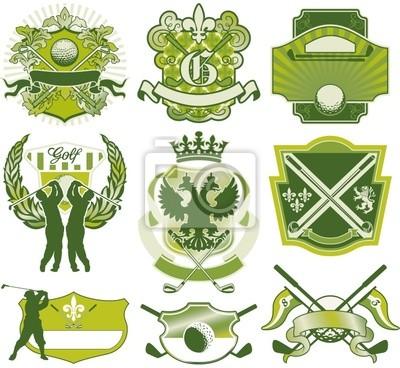 Golf badges