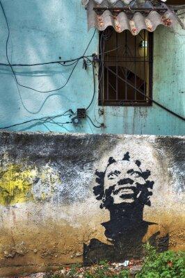 Graffiti in Havanna, Kuba