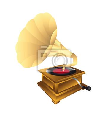 Poster Grammophon