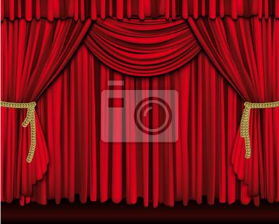 Poster: Grand-rideau de théâtre