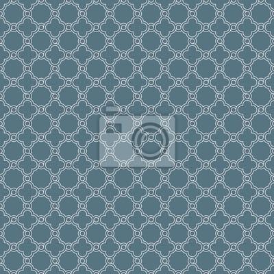 poster grau traditionelle geometrische quatrefoil trellis muster tapete vector textil teppich oder teppich hintergrund - Teppich Geometrisches Muster