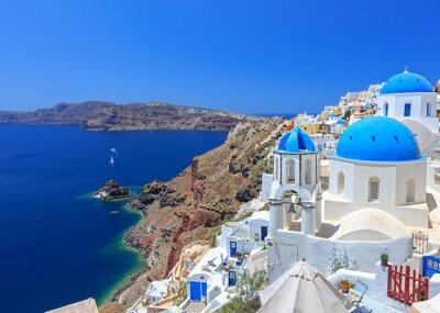 Poster Griechenland Santorini