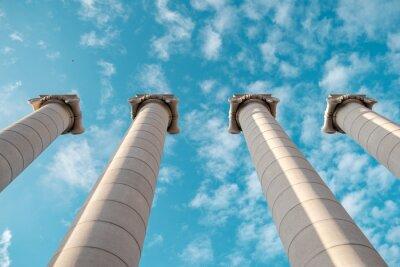 Poster Griechischen Säulen