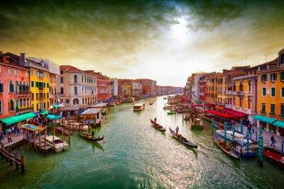 Poster Großartiger Kanal, Venedig, Italien.