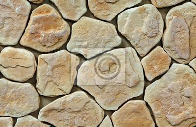 große Textur der Steinmauer