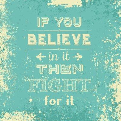 Poster Grunge Typografie-Hintergrund