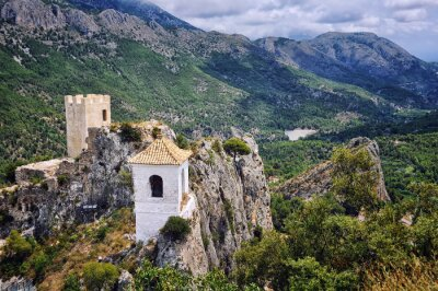 Guadalest - Dorf berühmt für seine Burg und Glockenturm