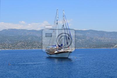 Gulet Segeln auf Kekova, Antalya