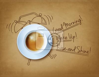 Poster Guten Morgen Kaffee