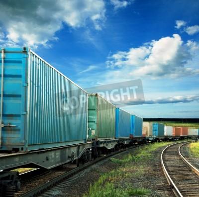 Poster Güterwagen