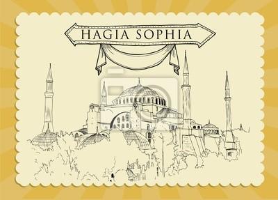 Hagia Sophia Cardpostal