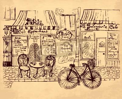 Poster hand drawn illustration