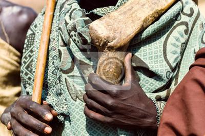 Hands of a Arbore man, Omo valley, Ethiopia