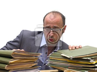 harte Büroarbeit