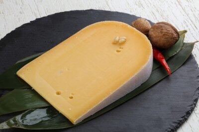 Poster Hartgelber Käse