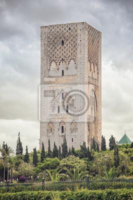 Hassan-Turm - wichtige historische Komplex in Rabat, Marokko