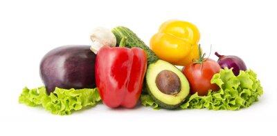 Poster Heap von Gemüse