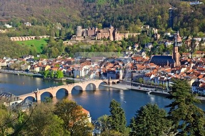 Heidelberg im Frühjahr, Deutschland