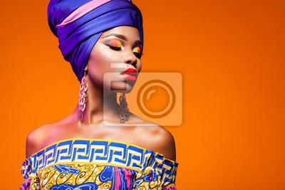 Poster Heiße afrikanische Schönheit