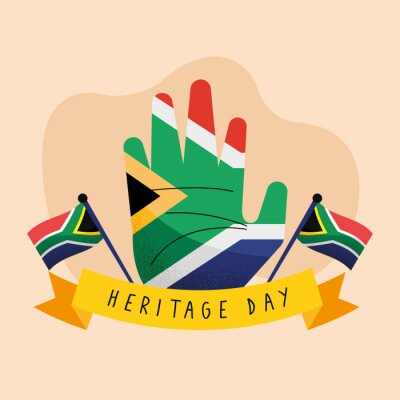 Poster heritage day postcard