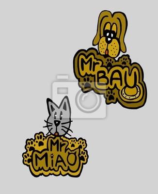 Herr Bau und Herr Miao