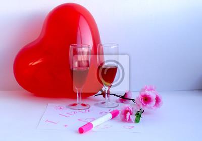 Poster Herzlichen Glückwunsch Zum Valentinstag