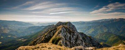 Poster Hiking on Piatra Craiului mountain ridge