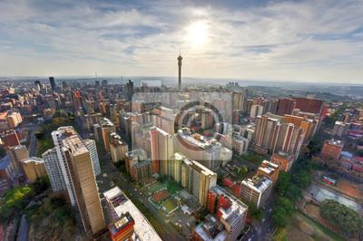 Poster Hillbrow Tower - Johannesburg, Südafrika
