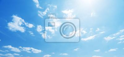 Poster Himmel und perfekten sonnigen Tag