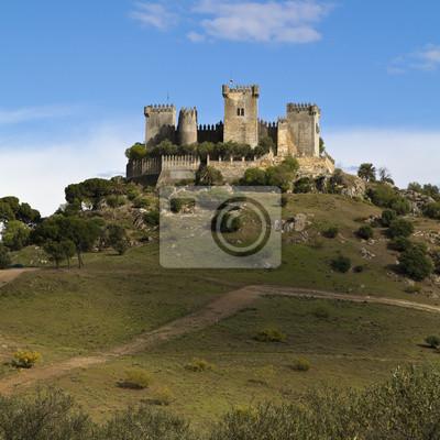 historischen Schloss in Almodovar del Rio