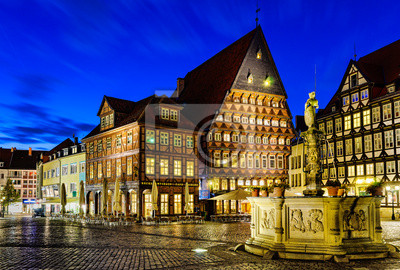 Historischer Marktplatz Hildesheim, Deutschland