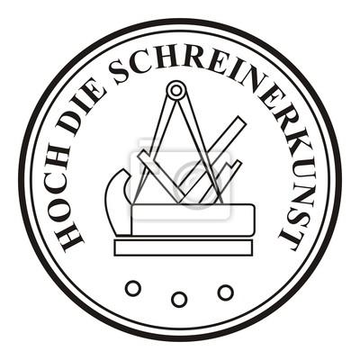 Schreiner Zeichen hoch die schreinerkunst schreiner symbol zeichen emblem