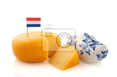 Poster Holländischer Käse
